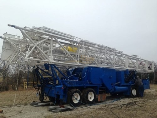 Franks 1287-160 DD Well Service Rig