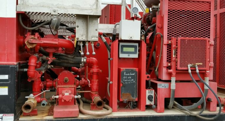 Weatherford Built Foam Air Stimulation Units