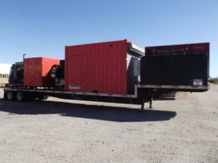 Trailer mounted Nitrogen Generation Unit