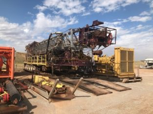 Service King 1000hp Mobile Drilling Rig