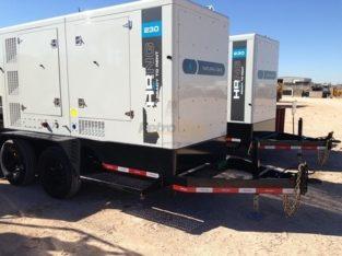 Hipower 182kw Generators (8) in stock