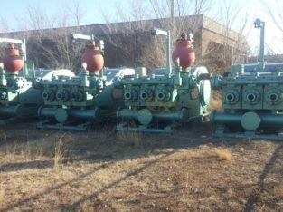 Four F1600hp Mud Pumps