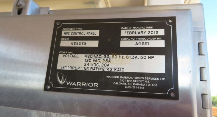 Warrior 250 Ton Top Drive