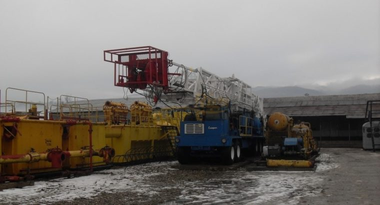 Cooper 350hp Carrier Rig