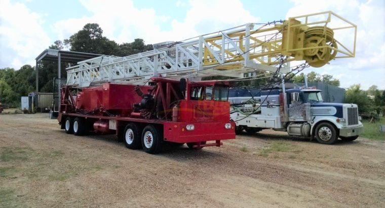 Rebuilt Cooper 350 Workover Rig