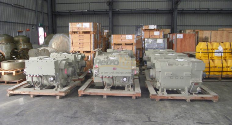 GE 752 Traction Motors, (8)