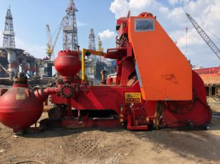 National 14-P-220 mud pumps (3), Lewco W446 mud pump (1)