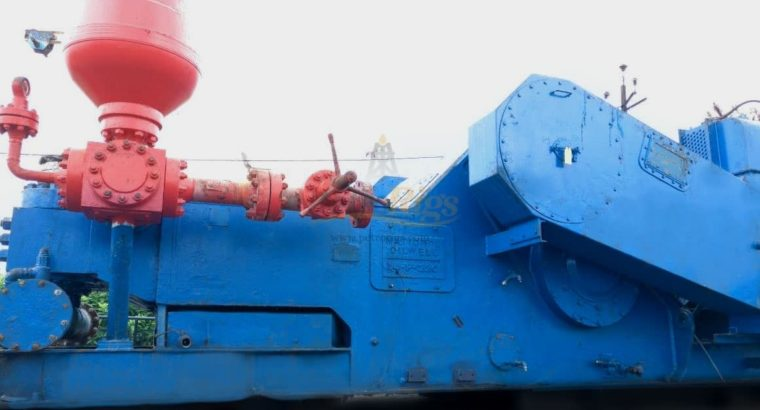 (3) NATIONAL 14P-220 Triplex Pumps, Rebuilt