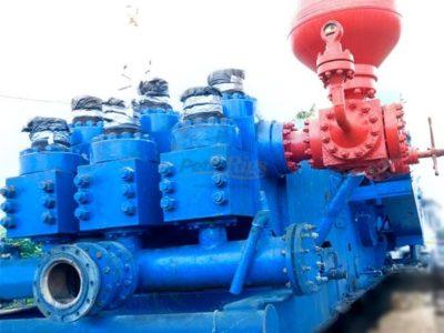 (3) NATIONAL 14P-220 Triplex Pumps, Rebuilt
