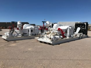 Emsco FB 1300hp Triplex Mud Pumps with CAT Power