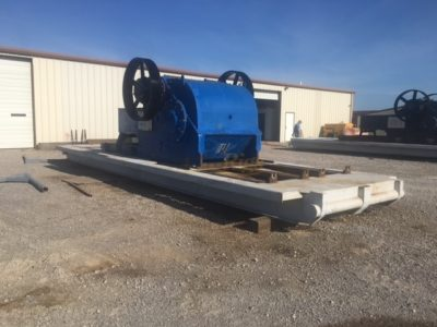 (3) NATIONAL 12P-160 Triplex Mud Pumps, Rebuilt