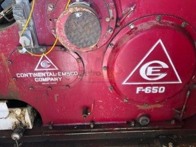 Continental Emsco F650 mud pump