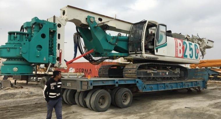 Hydraulic Piling Rig, Casagrande B250 XP-2