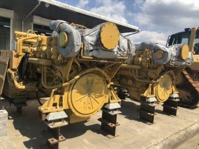 Caterpillar 3512C x 2 Marine Propulsion engines