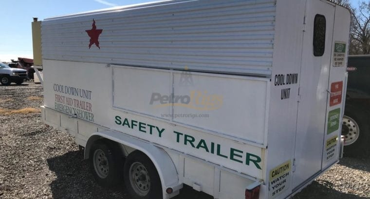 Crew Cooling Safety Trailers