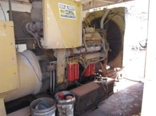 CAT 900KW Generator House