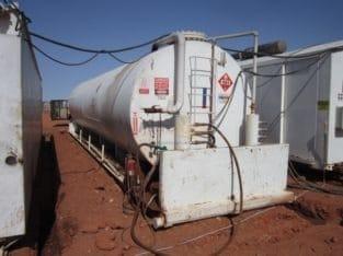 Skidded Diesel Tank