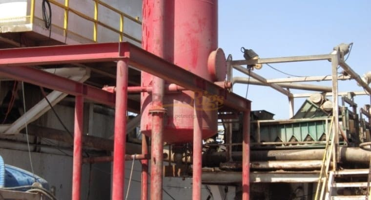 Swing Up Gas Separator
