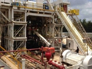 Continental Emsco C1 SCR Rig Package