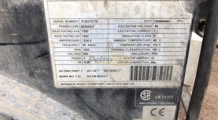 CAT C32 1040KW Gensets (2)