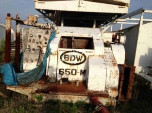 BDW 650 Drilling Rig