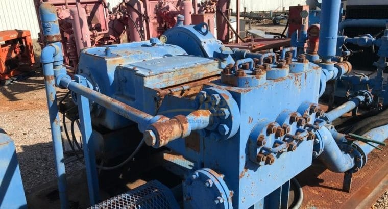 "Tulsa Triplex ""GASO"" Pump"