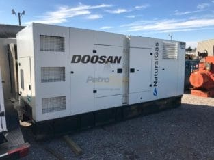 Doosan NG295 Natural Gas Generator