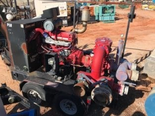 Detroit 60 Series Mobile Water Transfer Pump