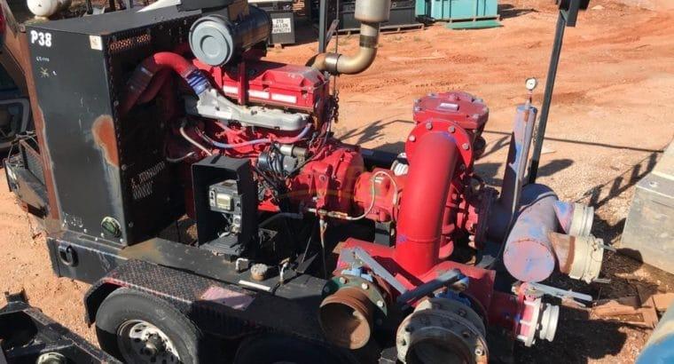 Detroit 60 Series Mobile Water Transfer Pump