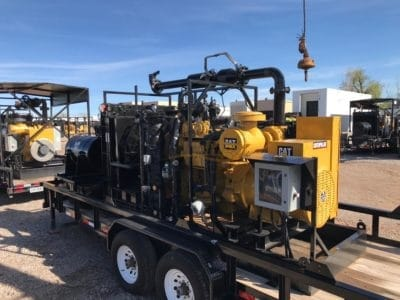 CAT NG3406 Mobile Generator Set