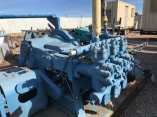 Oilwell Triplex Mud Pump