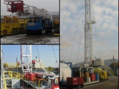 Three Mobile Drilling Rigs Package