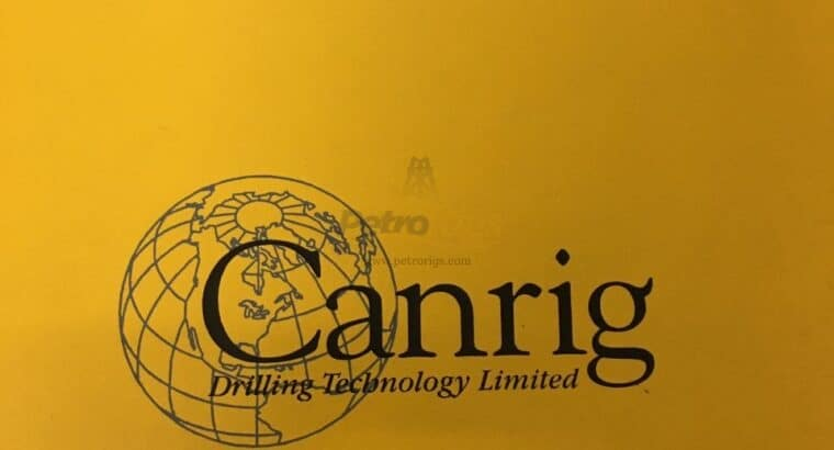 CANRIG 1275AC Top Drive