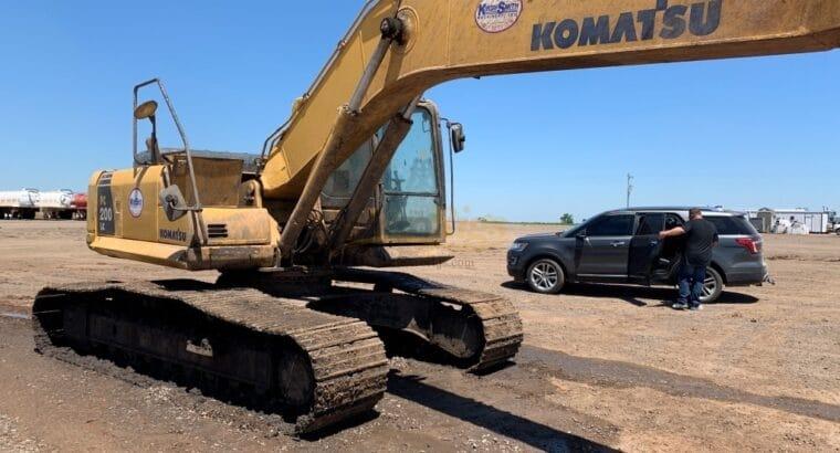Komatsu Excavator PC 200