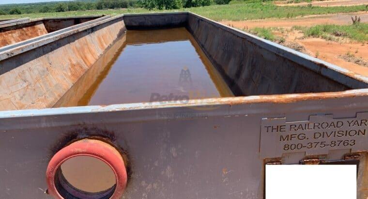 Half Round Mud Pit Tanks