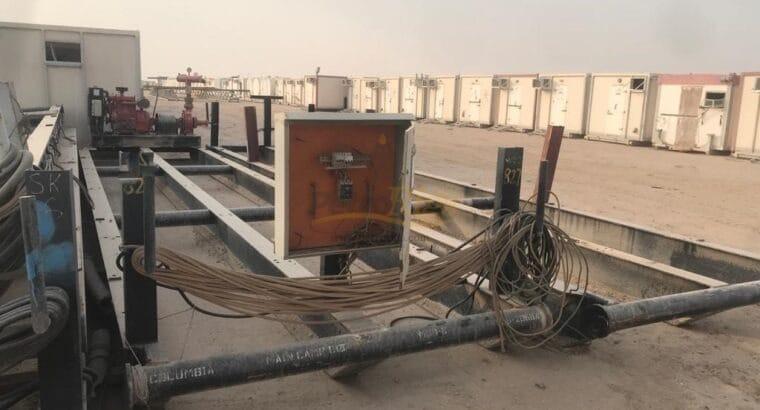 Yard Full of Drilling Equipment