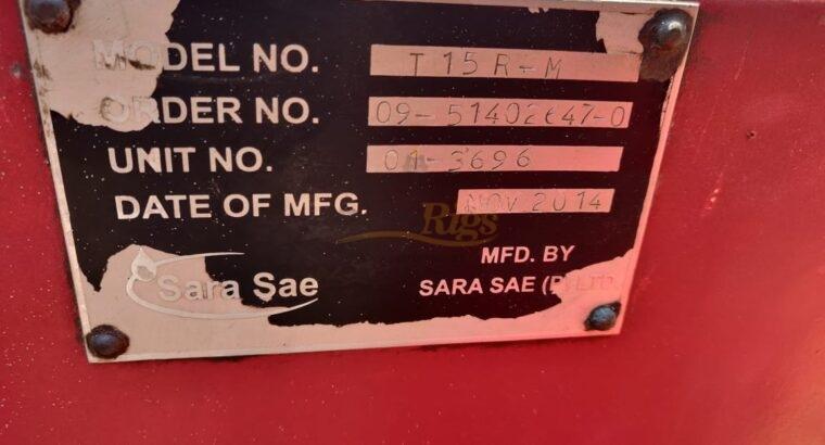 Sara Sae High Pressure Test Unit
