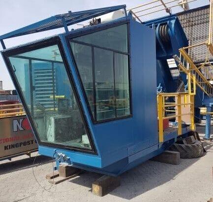 NOV 60DNS Kingpost Crane