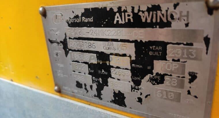 Ingersoll Rand 10 Ton Air Winches
