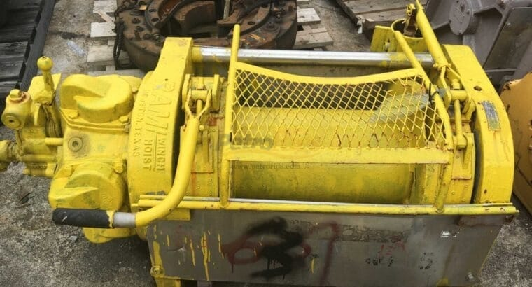 Various Ingersoll Rand Winches