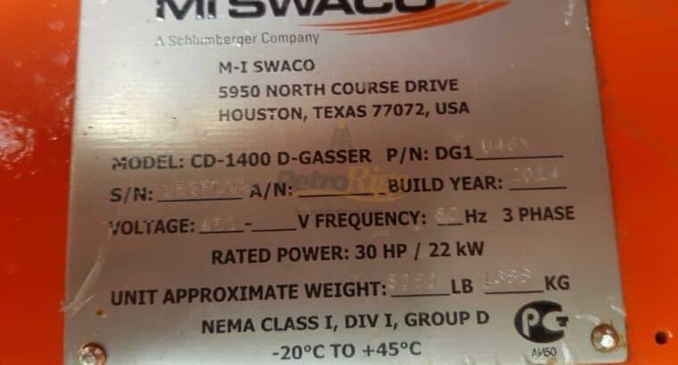 MI SWACO CD-1400 Degasser