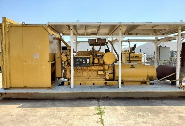 CAT 3512B Generator Set
