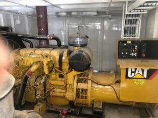 CAT C-15 Generator House