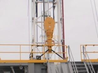 TSM 160 ton Block/Hook Combo