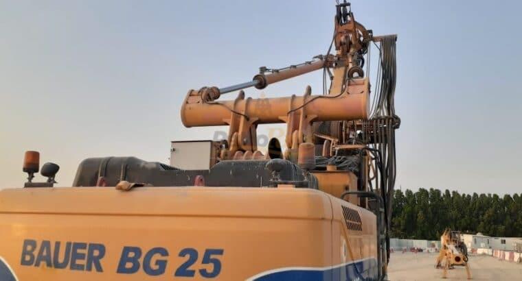 Bauer BG28V and BG25 Rigs