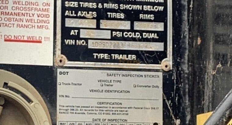 Ranco End Dump Trailers