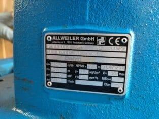 Allweiler Centrifugal Pump