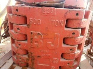 BJ 500 Ton Spider Elevator